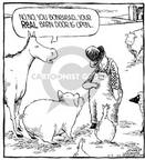 Comic Strip Dave Coverly  Speed Bump 2000-03-02 show horse