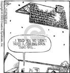 Cartoonist Dave Coverly  Speed Bump 2003-01-24 fan