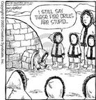 Cartoonist Dave Coverly  Speed Bump 2003-06-23 circle