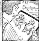 Cartoonist Dave Coverly  Speed Bump 2003-07-24 gingerbread man