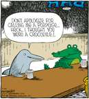 Cartoonist Dave Coverly  Speed Bump 2007-07-23 insult