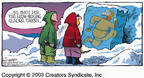 Cartoonist Dave Coverly  Speed Bump 2003-06-15 ice cube