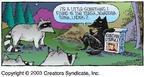 Cartoonist Dave Coverly  Speed Bump 2003-10-26 lady