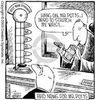 Cartoonist Dave Coverly  Speed Bump 2003-11-28 stretch