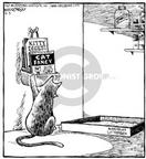 Cartoonist Dave Coverly  Speed Bump 2000-09-03 relevant