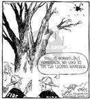 Cartoonist Dave Coverly  Speed Bump 2000-04-29 tree branch