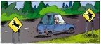 Cartoonist Dave Coverly  Speed Bump 2008-10-26 animal rights