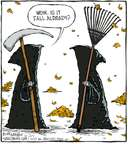 Cartoonist Dave Coverly  Speed Bump 2008-10-27 gardening