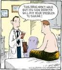 Cartoonist Dave Coverly  Speed Bump 2009-01-29 pharmaceutical