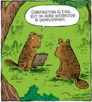 Cartoonist Dave Coverly  Speed Bump 2009-03-10 forest