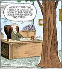 Cartoonist Dave Coverly  Speed Bump 2009-05-06 forest