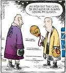 Cartoonist Dave Coverly  Speed Bump 2009-06-25 glove