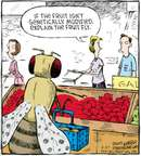 Cartoonist Dave Coverly  Speed Bump 2009-06-27 fruit fly