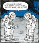 Cartoonist Dave Coverly  Speed Bump 2009-08-05 moon