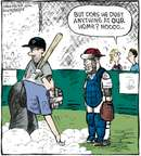 Cartoonist Dave Coverly  Speed Bump 2009-09-10 baseball umpire