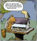 Cartoonist Dave Coverly  Speed Bump 2009-09-19 animal food