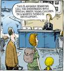 Cartoonist Dave Coverly  Speed Bump 2009-10-24 airplane