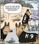 Cartoonist Dave Coverly  Speed Bump 2009-11-25 service animal