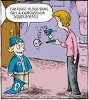 Cartoonist Dave Coverly  Speed Bump 2009-11-26 fan