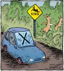 Cartoonist Dave Coverly  Speed Bump 2009-11-27 wildlife