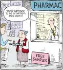 Cartoonist Dave Coverly  Speed Bump 2010-02-02 pharmaceutical