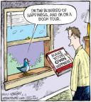 Cartoonist Dave Coverly  Speed Bump 2010-05-11 bluebird