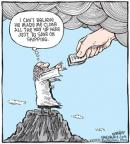 Cartoonist Dave Coverly  Speed Bump 2010-07-20 yahweh