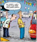Comic Strip Dave Coverly  Speed Bump 2010-07-27 new car smell