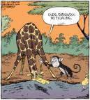 Cartoonist Dave Coverly  Speed Bump 2010-09-09 tickle