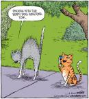 Cartoonist Dave Coverly  Speed Bump 2010-10-14 yap