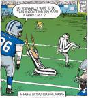 Cartoonist Dave Coverly  Speed Bump 2010-11-22 sporting