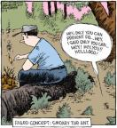 Cartoonist Dave Coverly  Speed Bump 2010-12-04 forest