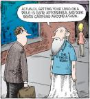Cartoonist Dave Coverly  Speed Bump 2010-12-14 marketing