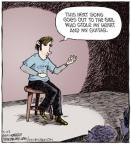 Cartoonist Dave Coverly  Speed Bump 2011-03-22 air guitar