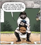 Cartoonist Dave Coverly  Speed Bump 2011-03-30 baseball player
