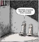 Cartoonist Dave Coverly  Speed Bump 2011-05-04 gun