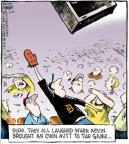 Cartoonist Dave Coverly  Speed Bump 2011-05-21 catch baseball