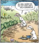 Cartoonist Dave Coverly  Speed Bump 2011-05-28 vegetable