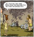 Cartoonist Dave Coverly  Speed Bump 2011-06-11 pile