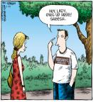 Cartoonist Dave Coverly  Speed Bump 2011-06-25 lady