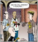 Cartoonist Dave Coverly  Speed Bump 2011-07-02 sporting