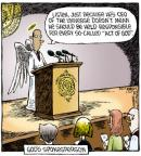 Cartoonist Dave Coverly  Speed Bump 2011-07-20 act of God