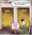 Cartoonist Dave Coverly  Speed Bump 2011-07-25 please