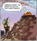 Cartoonist Dave Coverly  Speed Bump 2011-08-03 purpose