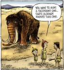 Cartoonist Dave Coverly  Speed Bump 2011-08-20 mammoth