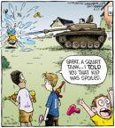 Cartoonist Dave Coverly  Speed Bump 2011-08-23 gun