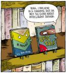 Cartoonist Dave Coverly  Speed Bump 2011-08-27 intelligent design