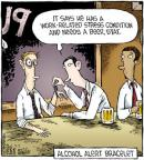Cartoonist Dave Coverly  Speed Bump 2011-09-02 beer