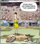 Cartoonist Dave Coverly  Speed Bump 2011-10-17 throw baseball