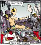 Cartoonist Dave Coverly  Speed Bump 2011-11-10 food safety